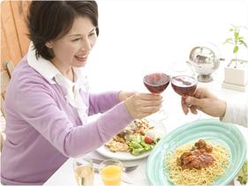 治療当日から食事・会話ができる